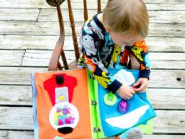 Montessori silent book