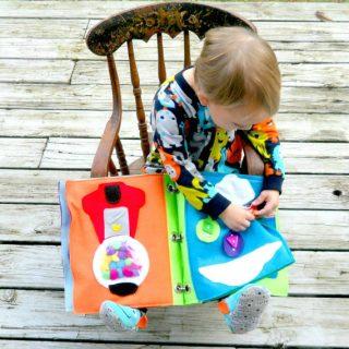 Montessori: silent book per bambini