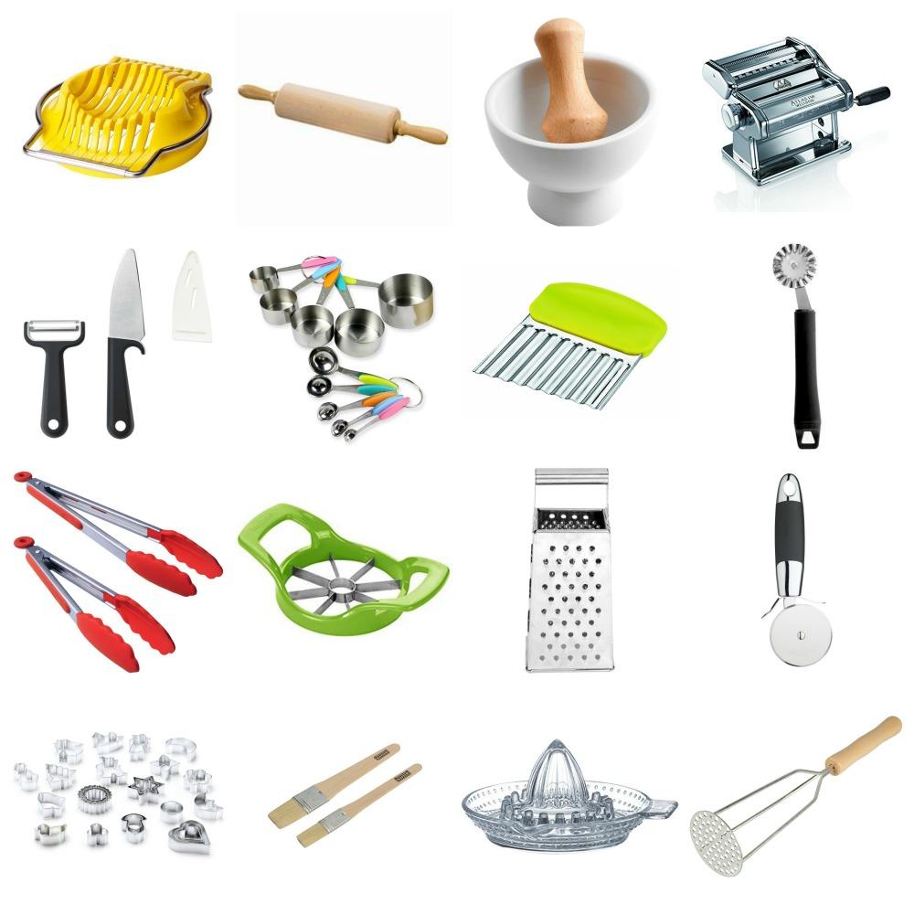 Accessori x cucina la cucina provvista di stoviglie di accessori per cucinare e un tavolo - Elenco accessori cucina ...