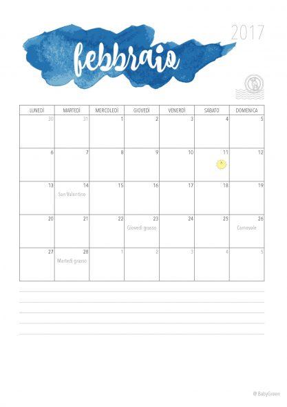 Febbraio semplice e organizzato  la miniguida - BabyGreen 7a0878e3cff