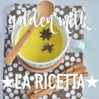 Golden Milk: ricetta, proprietà e benefici