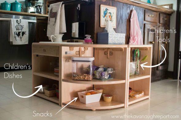 Cucina Per Bambini Miele : Montessori: come organizzare la cucina babygreen