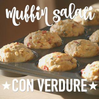 Muffin salati con verdure