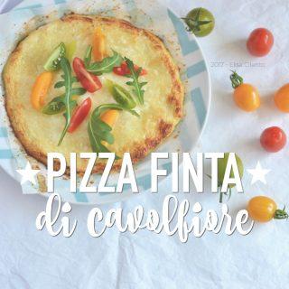 Pizza (finta) di cavolfiore