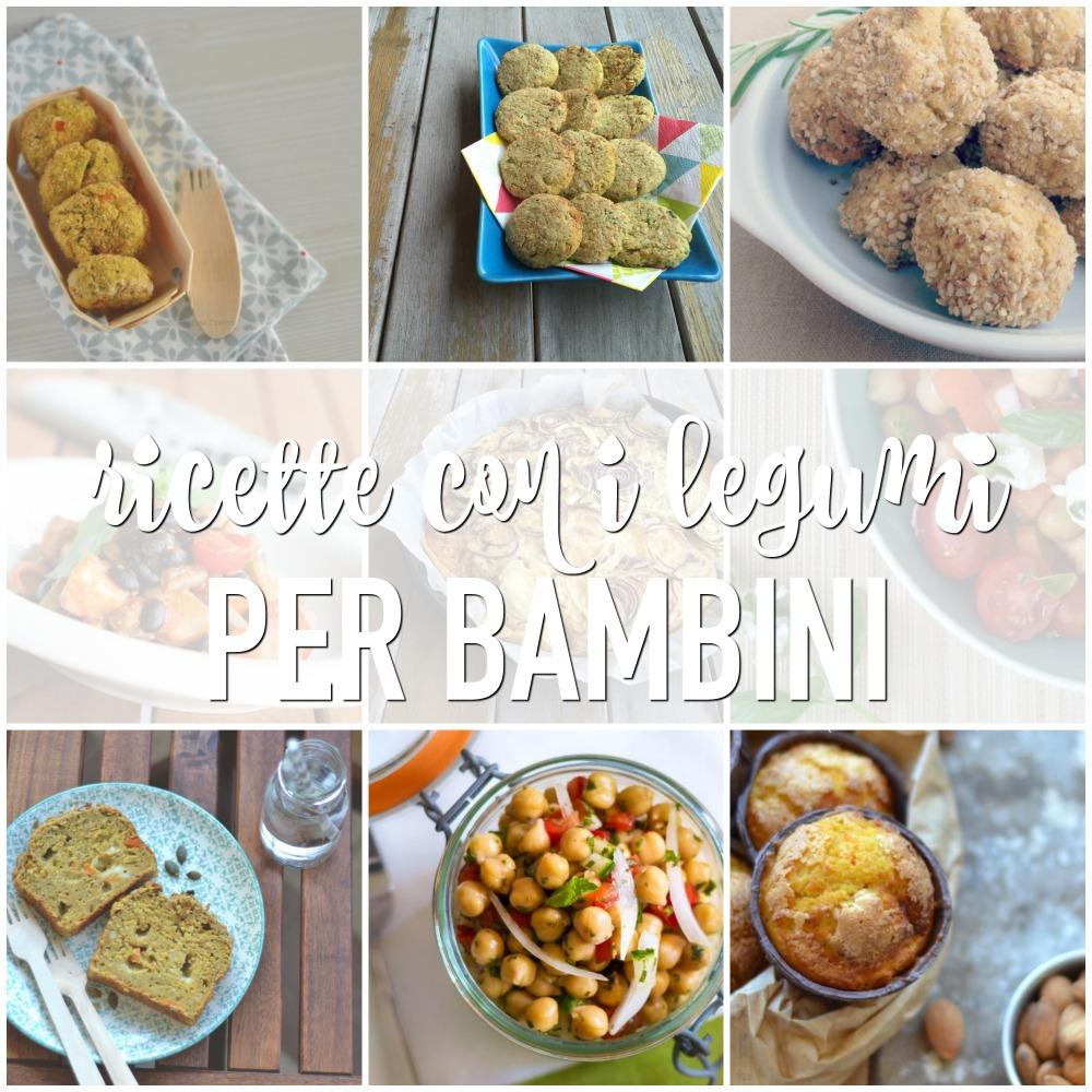 Ricette con legumi per bambini babygreen for Ricette online