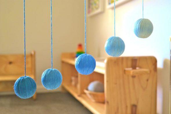 Giochi Montessori fai da te per neonato