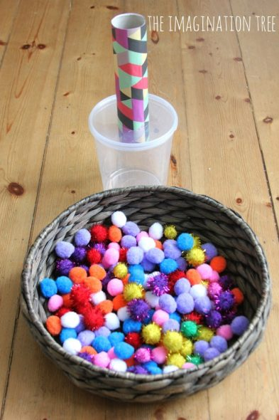 Giochi Montessori fai da te (1- 3 anni)