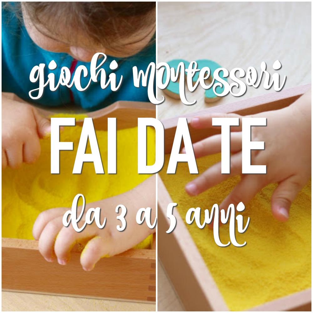 Giochi montessori fai da te 3 5 anni babygreen for Come leggere i progetti per i manichini