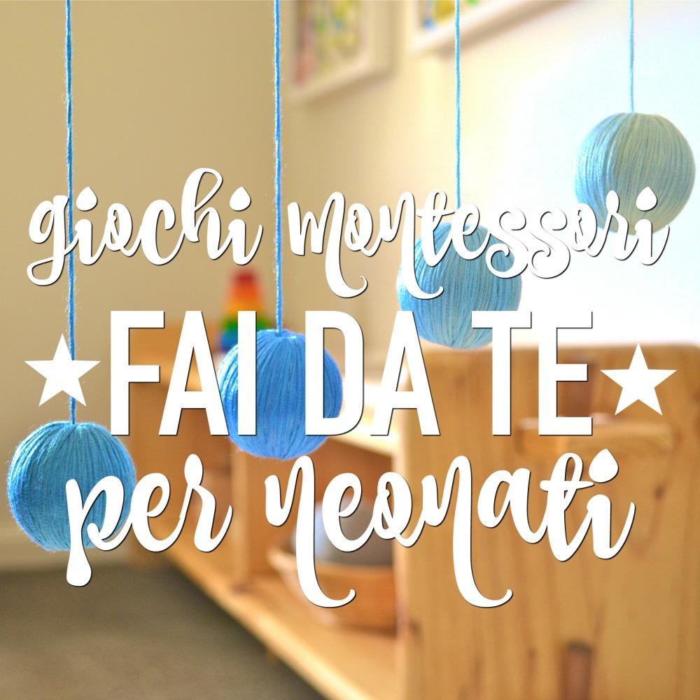 Giochi montessori fai da te 0 12 mesi babygreen for Rastrelliera per fucili fai da te