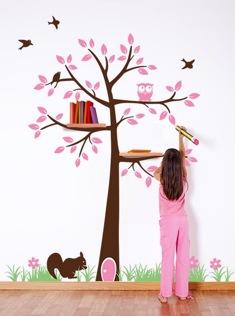 Adesivi murali made in italy per tutta la famiglia babygreen - Adesivi cameretta bimbo ...