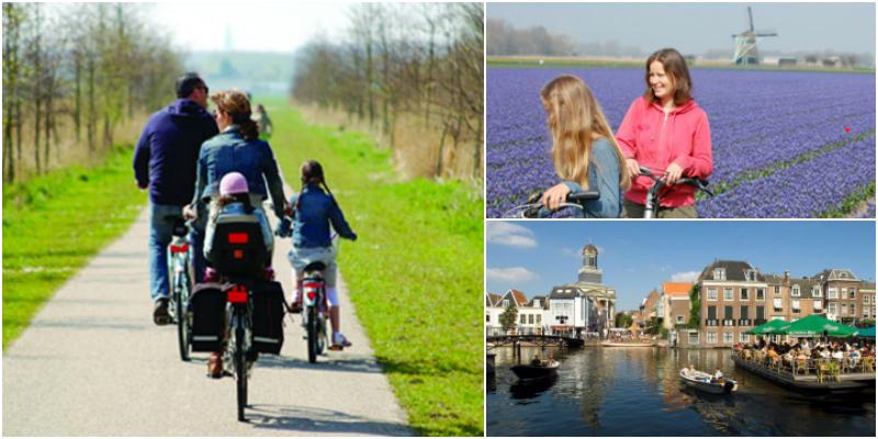 Viaggi (in bici) con i bambini: 10 itinerari indimenticabili olanda bici famiglia