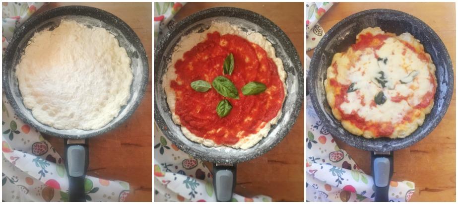 Ricetta Pizza In Padella.Pizza In Padella In 15 Minuti