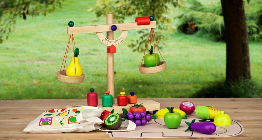 frutta verdura ortaggi legno