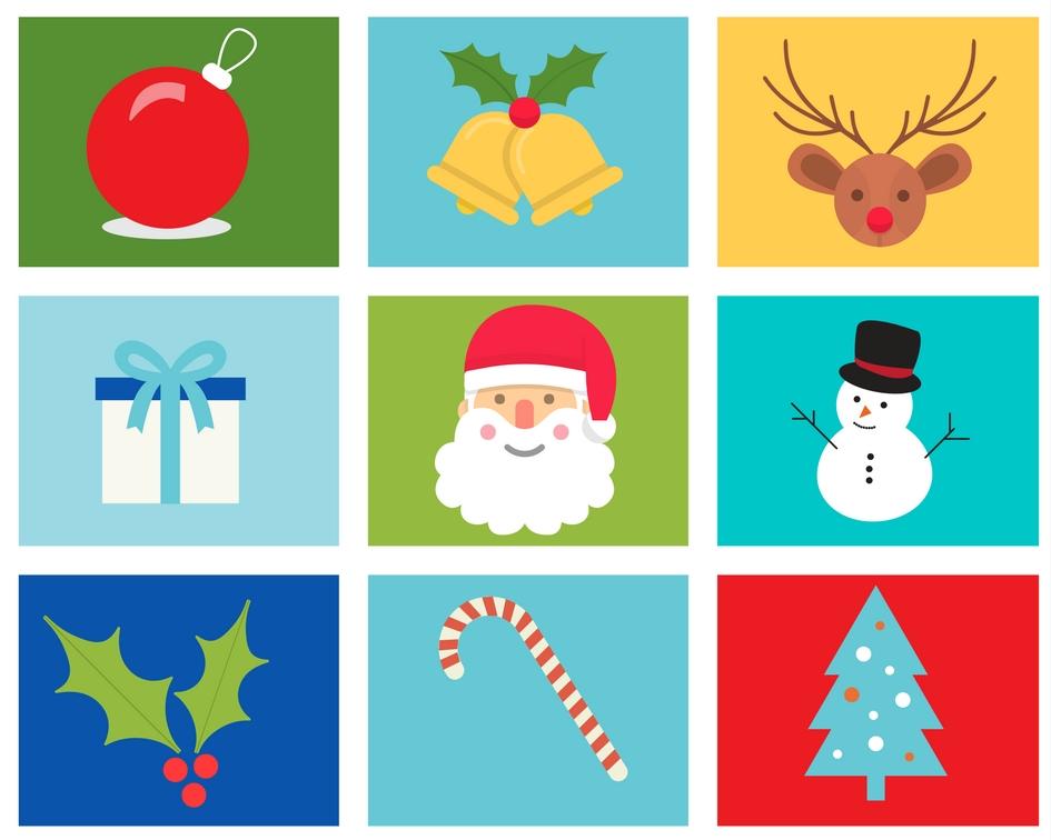 Immagini Di Natale Da Stampare Gratis.Memory Di Natale Da Stampare Pdf Gratis Babygreen
