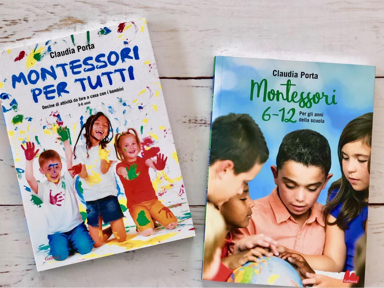 Montessori 6 12 gli anni della scuola babygreen - Porta libri montessori ...