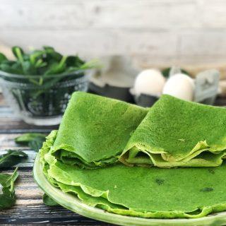 Crêpes di spinaci: ricetta