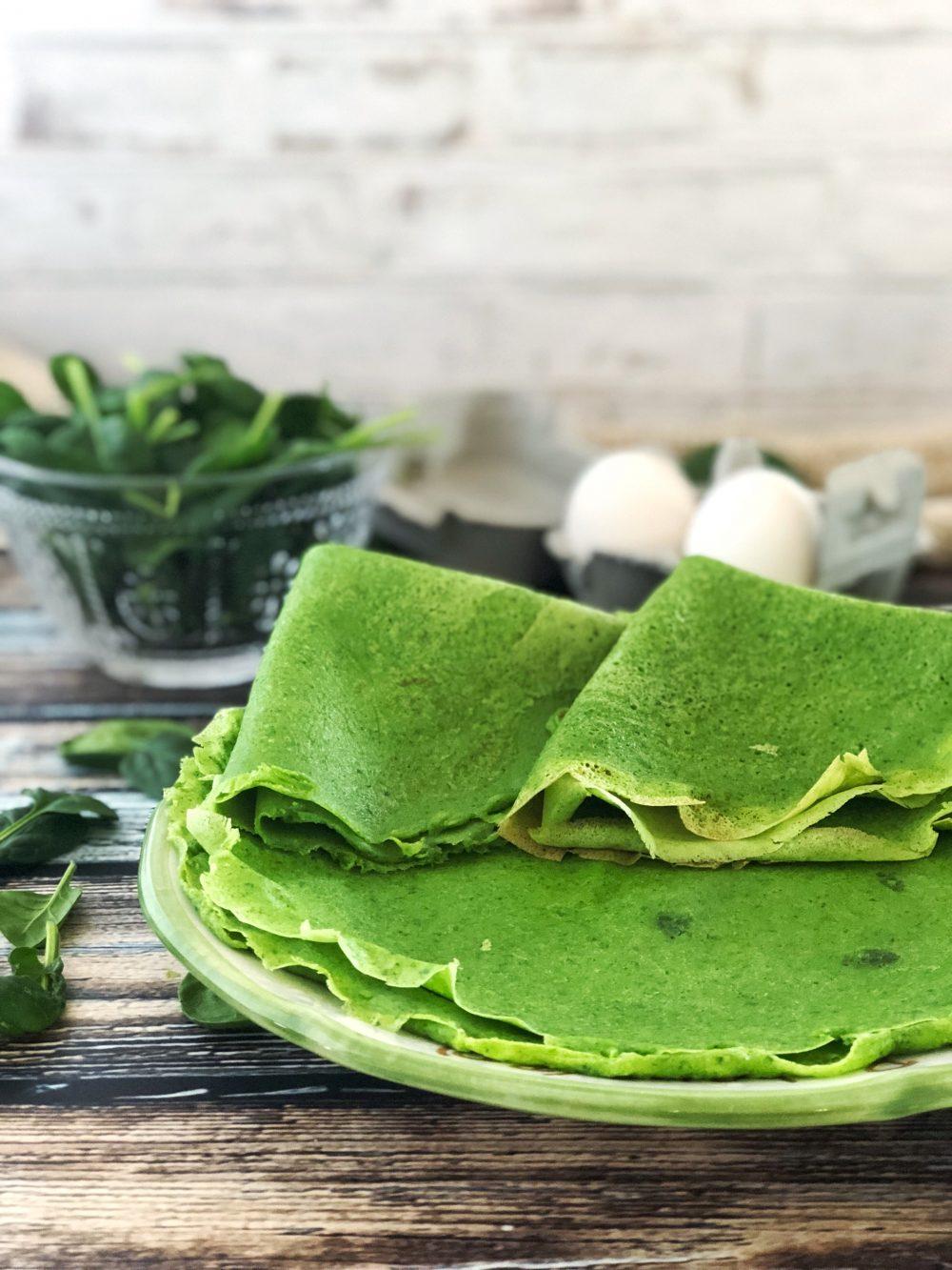 crêpes di spinaci ricetta
