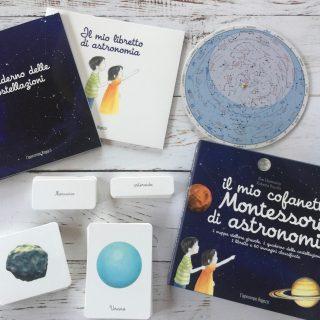 Montessori e astronomia: le carte delle nomenclature