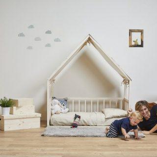Lettino Montessori a casetta: 'ETTOMIO