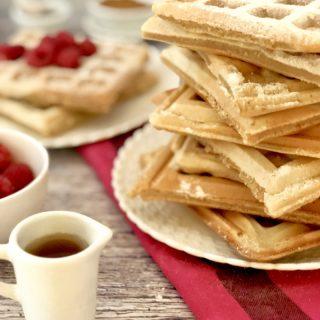 Waffles: ricetta e piastra