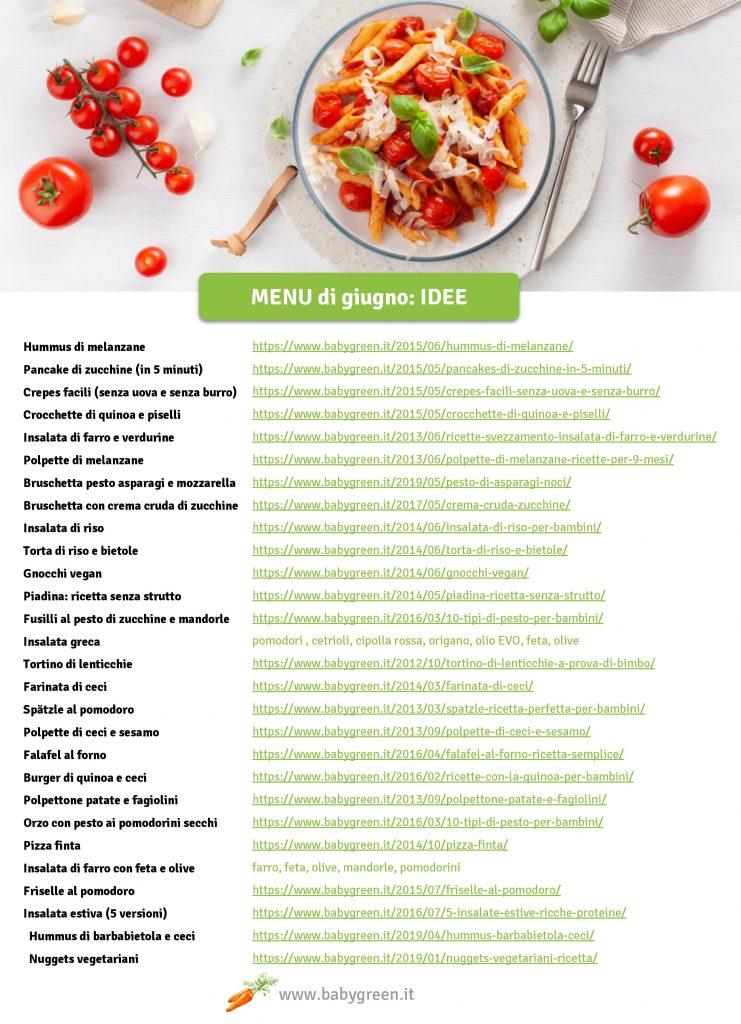 giugno-menu