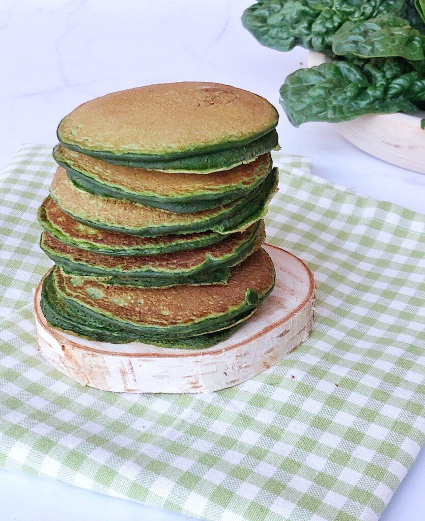 pancake-spinaci