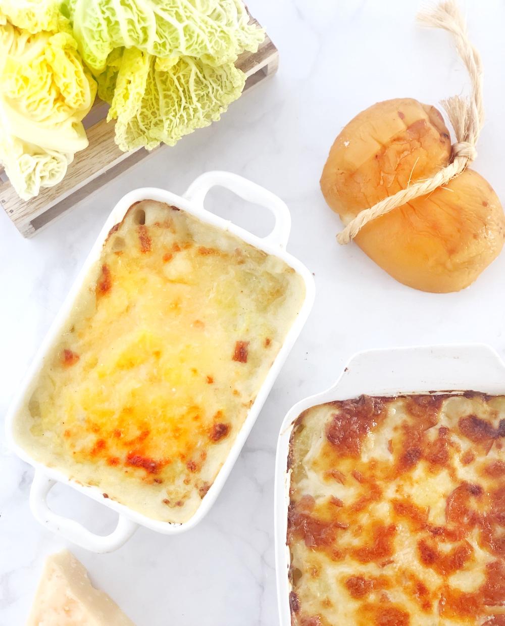 Sformato patate e verza