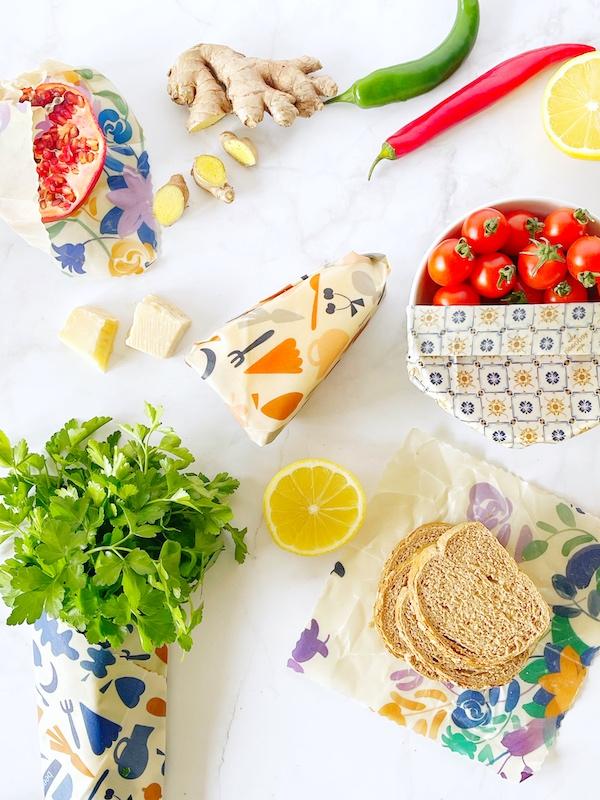 Fogli in cera d'api per alimenti made in Italy