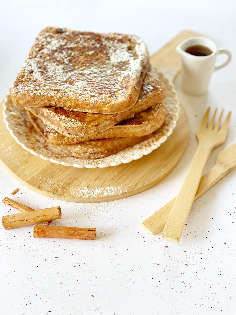 French toast senza uova vegani