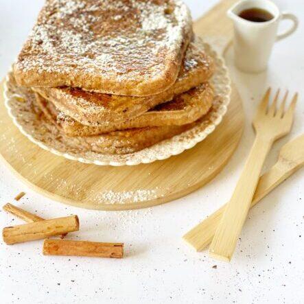 freanch-toast-vegan-cannella-senza-uova